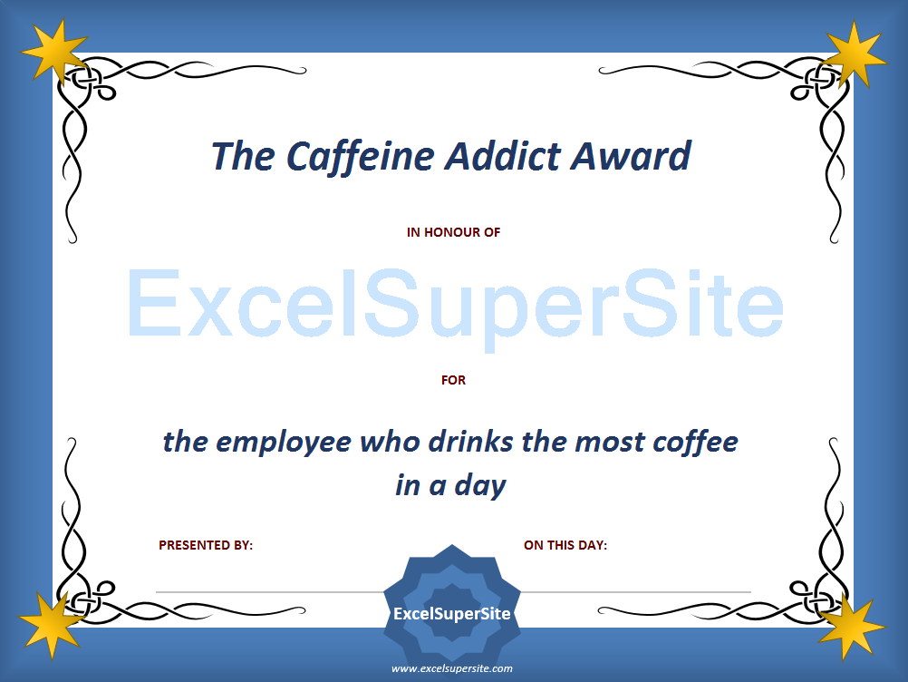 75 funny awards to recognise the efforts of your staff
