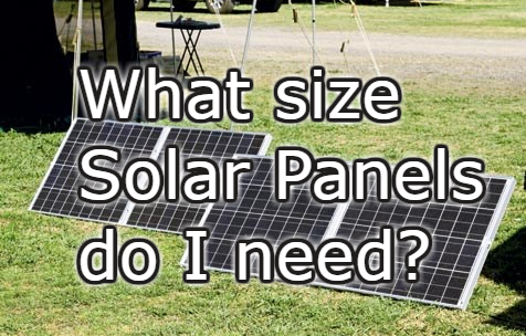 What size Solar Panels do I need? | ExcelSuperSite